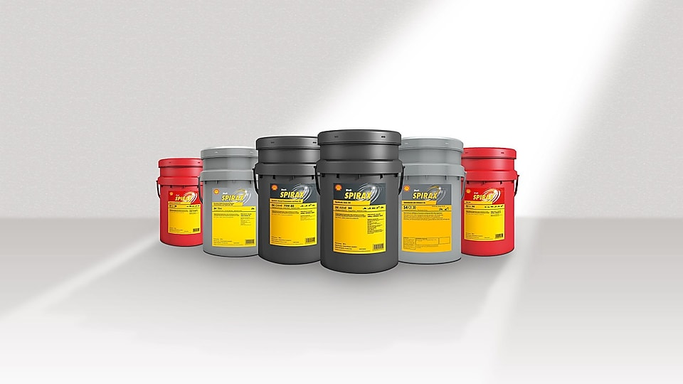 Shell Spirax - Axle and Transmission Oils
