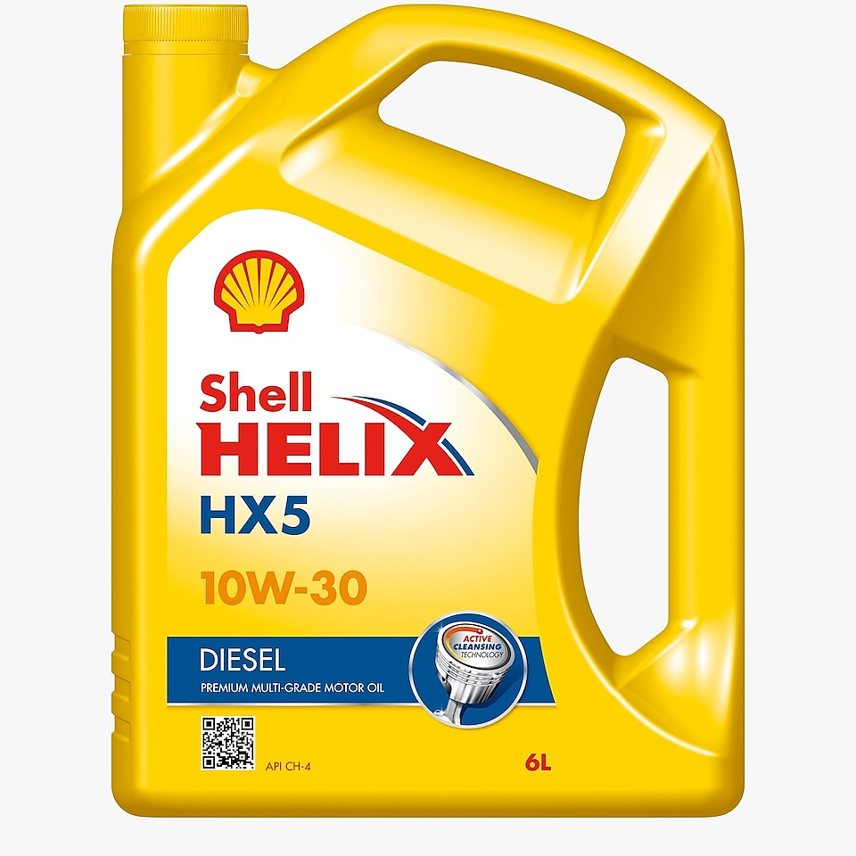 Packshot of Shell Helix Diesel 10w-30