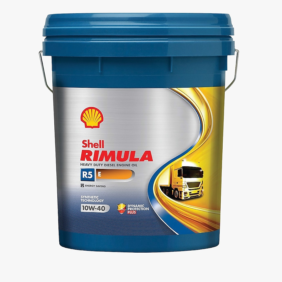 Packshot of Shell Rimula R5 E